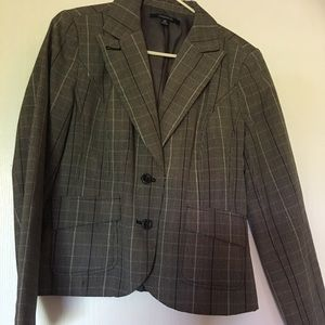Chadwick's Blazer - multi-color plaid